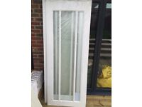 New doors for quick sale - 2 primed worchester glazed