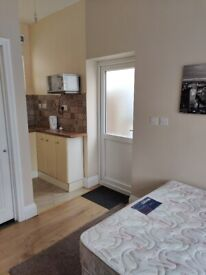 Self contained double room
