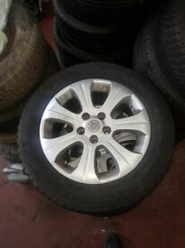 Vectra alloy wheels 16 inch