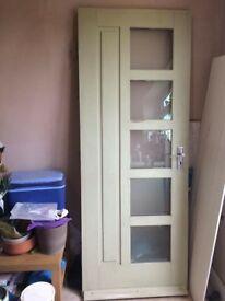 Oak Glazed Exterior door