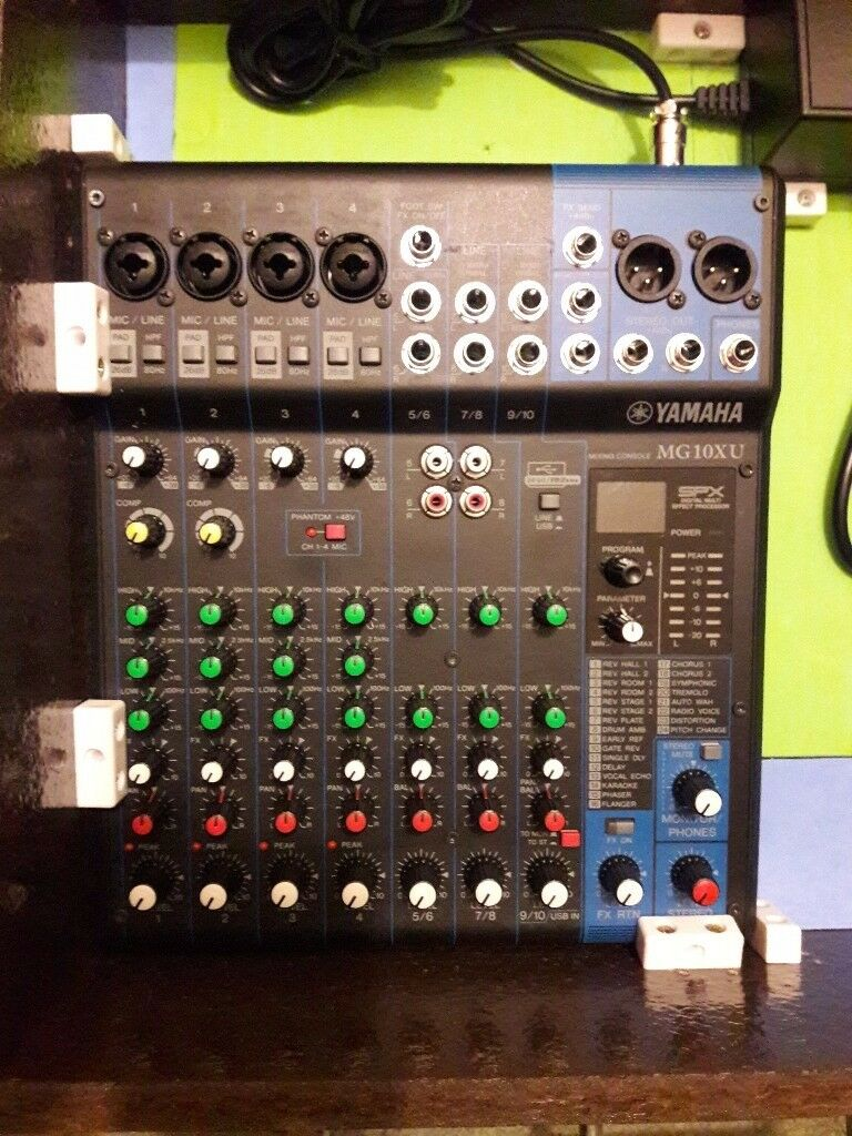 Yamaha Mg10xu Mixer With Effects In Montrose Angus Gumtree