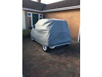 Car cover for Smart for two plus carpet mats