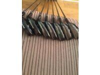 cleveland gc7 irons black pearl 4-sw