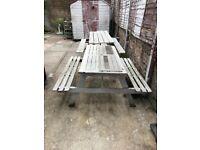 patio/pub bench
