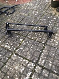 Roof rack for VW Golf with gutter