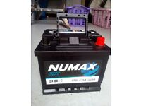 Numax premium car battery 12A 41AH 390A