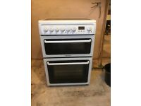 Hotpoint Electric twin oven cooker