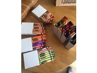 Crayoal wax crayons