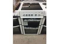 BRAND NEW FLAVEL 50CM WHITE ELECTRIC COOKER WITH OVEN & GRILL