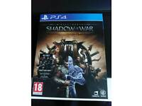 Shadow of war gold edition ps4