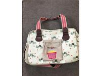 Yummy mummy baby changing bag.