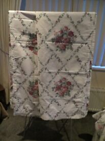 Pair curtains 64in x 72in Lightweight & unlined