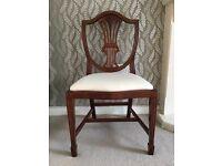 Set of 4 Edwardian style chairs