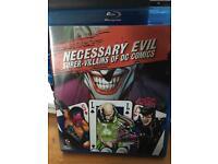 Necessary Evil Blu-Ray DC Comics