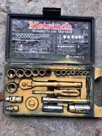 Tradesman's comprehensive toolset