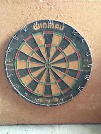 Winmau dart board FREE