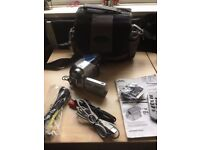 jvc gr-d73ek digital camera with case and all leads and manual