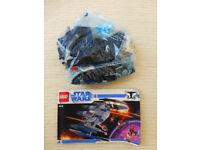 Lego starwars 8016 Hyena Droid Bomber 99% complete missing one mini figure