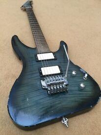 Tomson custom made electric guitar