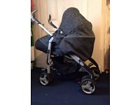 Silver Cross 3D Travel System Includes Pram & Car Seat