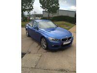 BMW 320d X Drive, M Sport Plus, Automatic, Estoril Blue