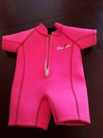 Baby wet suit