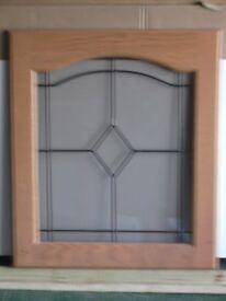 selection of oak kitchen doors