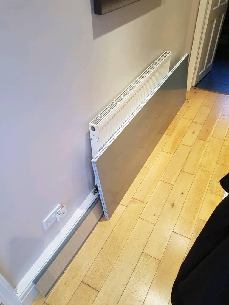 Howdens matt grey larder panels cornice and plinth