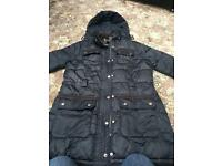 Ladies Barbour coat size 16 blue