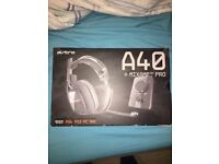 Astro A40 headset and mix amp (PC PS4 XBOX)