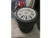 VW GOLF ALLOYS 17 inch. BRAND NEW WITH TYRES