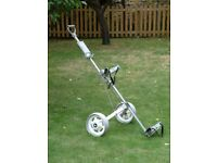 Master Lite Golf Trolley - With Ball Holder, Score Card and T Holder -