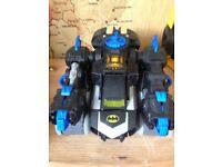 Imaginext remote control transforming batbot batman RC