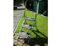 Little giant safety step ladder vgc