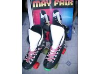 ROLLER BOOTS by MAY FAIR size 6