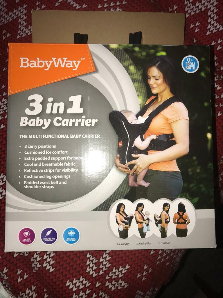 7835cd75f13 Babyway 3 in 1 baby carrier sling