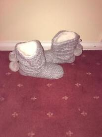 Boot Slippers Brand new unwanted Xmas 🎁