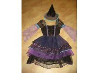 Witch costume, girls fancy dress, dressing up, World Book Day