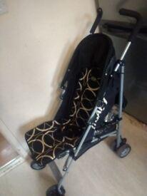 Obaby Umbrella Pushchair Stroller + Raincover
