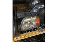 Nissan MICRA k11 2000 passenger headlight