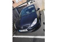 Peugeot, black, 307 zest