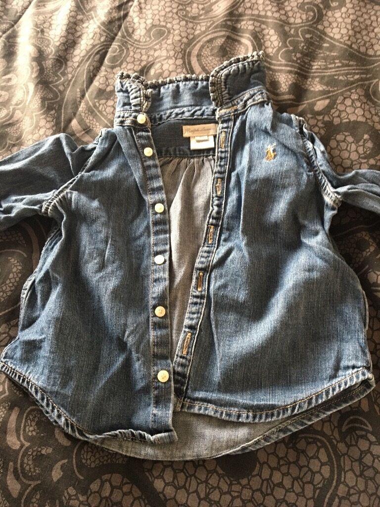 Polo Ralph Lauren denim shirt 18 months