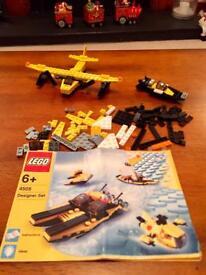 Lego designer 6 in 1 sea going vessel set No 4505