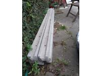 5 concrete posts