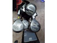 Full set golf clubs + extras