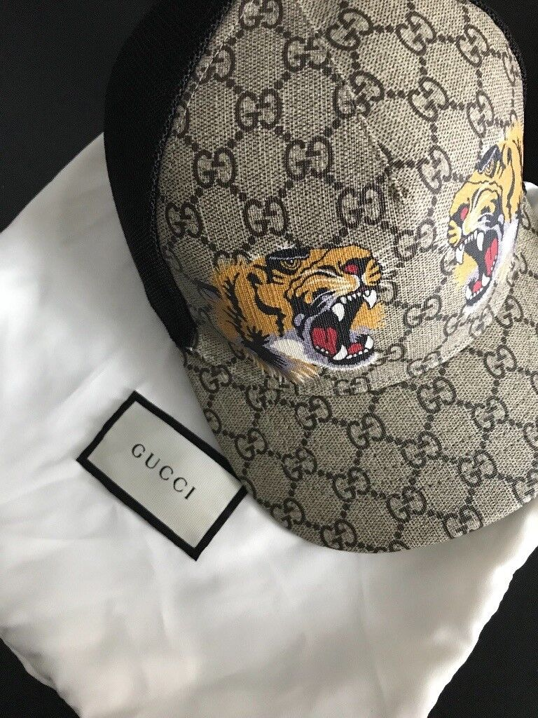 Gucci cap lion head  13eb7df80da