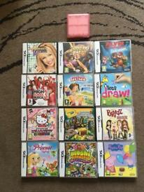 Nintendo DS Games inc travel holder