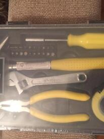 Brand new tool set / wood file / level
