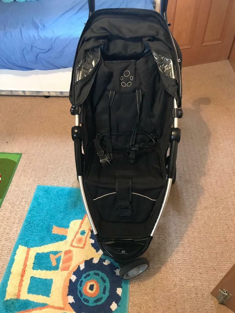 PETIT STAR ZIA THREE WHEEL PUSHCHAIR STROLLER BUGGY GOOD CONDITION