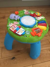 Leapfrog animal adventure learning and activity table